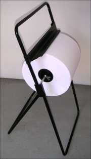Industrial Paper Roll and Stand, Paper Roll 26 cm x 700 metres per roll